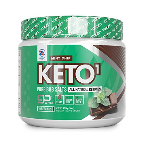Exogenous Ketones Supplement with Beta Hydroxybutyrate BHB Salts for Ketogenic Diet â Keto Powder Drink to Help Reach Ketosis, Weight Control, Reduce Stress, Boost Energy (Mint Chip, 10 Servings)
