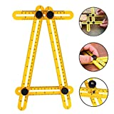 Aonesy Multi Angle Measuring Tool Tile and Flooring Angleizer Template Layout Ruler for Craftsmen Handymen Builders Carpenter DIY