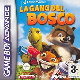 Activision La Gang Del Bosco Gba Juego Gba Game Boy Advance
