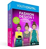 Fashion Design 1 – Kids Ages 8-14 Learn to Design & Illustrate Their Own Fashion Collection (PC & Mac)