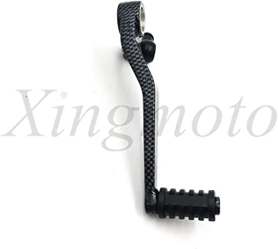 GEAR SHIFT LEVER SHIFTER PEDAL Compatible with SUZUKI GSXR 600 750 1000 GSX-R GSXR600 B60 Carbon Fiber Style HTTMT MT268-001-R