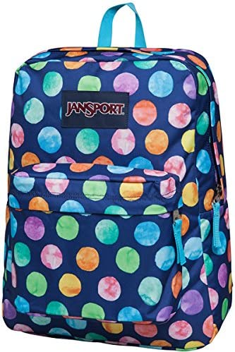 JanSport Unisex SuperBreak Multi Watercolor Spots Backpack