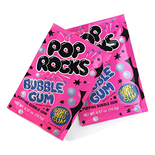 POP ROCKS Bubblegum, 0.37 oz, 24 Count