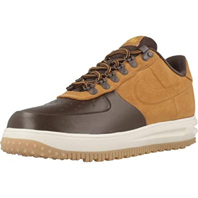 pick up e028a cf23c Nike Lf1 Duckboot Low, Chaussures de Basketball Homme, Multicolore (Baroque  Brown Desert