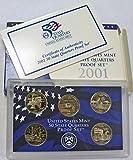 2001 S Statehood Quarters Proof Set Original Mint