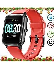 UMIDIGI Uwatch3 Reloj Inteligent 5ATM Impermeable Smartwatch con Cronómetro Pulsera Actividad para Deporte de Fitness con Podómetro Smartwatch Mujer Hombre niños para iOS y Android