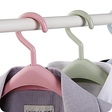 Ruikey Verdickung Breite Schulter Kleiderb/ügel aus Kunststoff,Rutschfest und Anti-Wind,Anzugb/ügel,Jackenb/ügel f/ür Anzug//Kost/üm