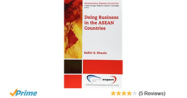 Doing business in the asean countries international business doing business in the asean countries international business collection balbir bhasin 9781606491089 amazon books colourmoves