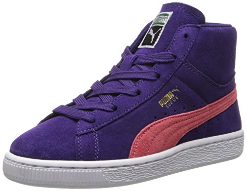 Puma Suede Classic Purple Youths Trainers Purple