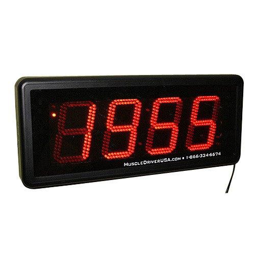 (Fringe Sport Clock Gone Bad Wall Timer w/Remote - Easily Programmed for Interval Training)