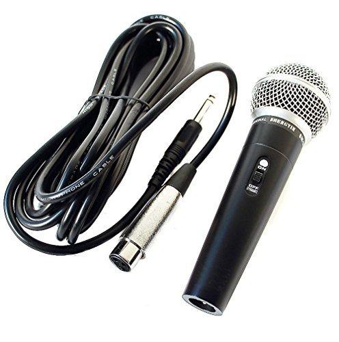 Profi Mikrofon Dynamisches Gesangsmikrofon Studio und 5m Kabel microphone