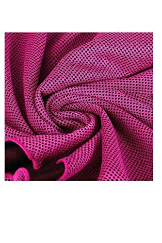 Hogar ropa de cama tienda Hielo fresco toalla/toalla de enfriamiento, Deporte, Gimnasio, toalla de sauna, color rosa: Amazon.es: Hogar