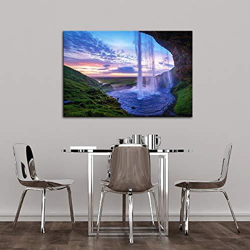 for Living Room Bedroom Home Artwork Paintings Waterfall Landscape