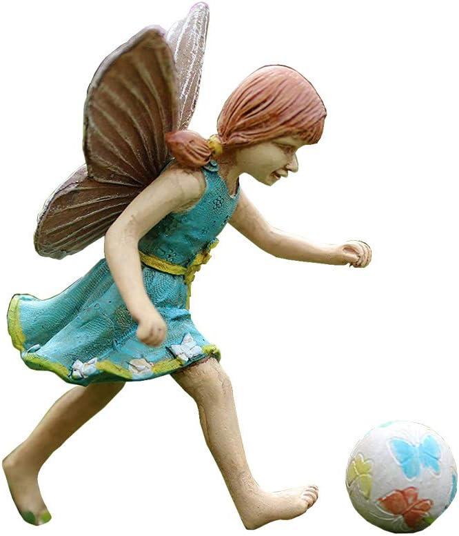 Miniature Fairy Garden Fairy Jenna with Ball