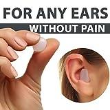 PQ Wax Ear Plugs for Sleep - 12 Silicon Wax