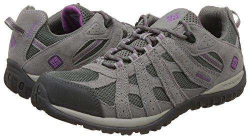 3ad03c5527b Columbia Women's Redmond Waterproof Hiking Shoe, Charcoal, Razzle, 6 B US  by Columbia