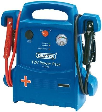 Draper 40133 12V Portable Power Pack: Amazon.es: Coche y moto