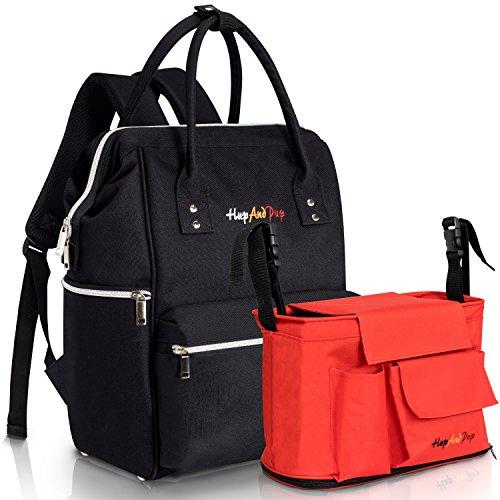 b43fa41eeb5 HupAndPup Backpack Diaper Bag for Mom Dad Girls   Boys