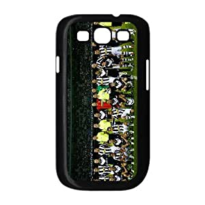Custom Samsung Galaxy s3 9300 Case Juventus Team 2015 2016 Season Galaxy s3 9300 Black Side Protective Cover