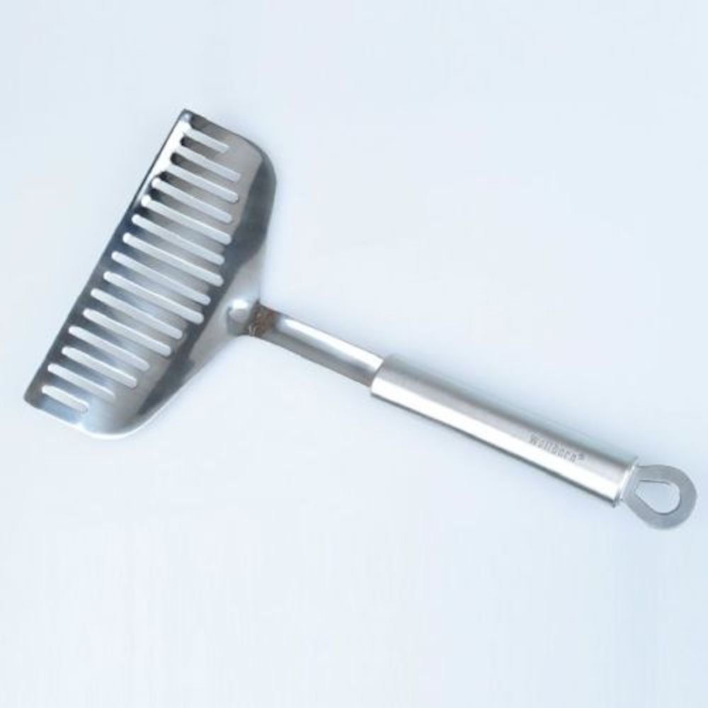 Extra Wide Fish Slice Spatula Turner Roasting Barbecue Germany* Stainless Steel