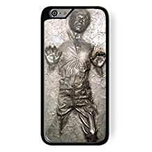 Han Solo Frozen Star Wars in Carbon for iPhone 6 Plus Black case