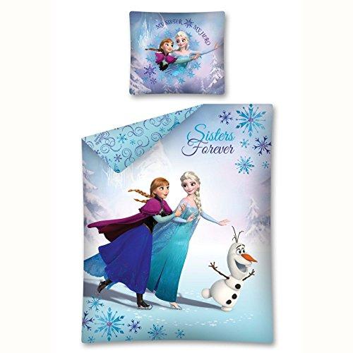 Disney Frozen Sisters Forever Single Cotton Duvet Cover