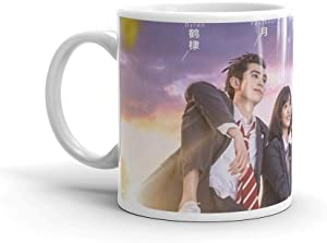 METEOR GARDEN 2018. 11 Oz Fine Ceramic Mug With Flawless Glaze Finish. 11 Oz Ceramic Coffee Mug Also Makes A Great Tea Cup With Its Large, Easy to Grip C-handle