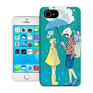 Unique Phone Case Watercolor girl#4 Hard Cover for iPhone 4/4s cases-buythecase