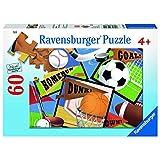 Ravensburger Sports! Sports! Sports! Jigsaw Puzzle (60 Piece)