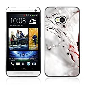 Designer Depo Hard Protection Case for HTC One M7 / Water Splash