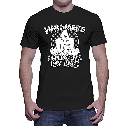 Mens Harambes childrens Daycare T shirt