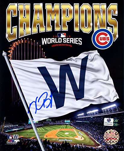 Kris Bryant Chicago Cubs Signed Autographed 8