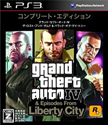 Take-Two Grand Theft Auto IV The Complete Edition for PS3 [Japan Import]