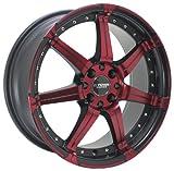 Kyowa Racing Series 518 Red/Machined - 18 x 7.5 Inch Wheel