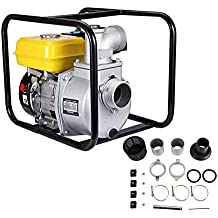 "BEAMNOVA Semi Trash Water Pump NPT 3"" 7 HP 4-Stroke 267-Gallon Per Minute Gas-Powered Portable Water Pump"