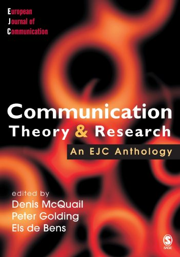 Communication Theory and Research (European Journal of Communication)
