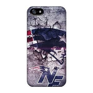 Apple Iphone 5/5s GxR6547zsVA Provide Private Custom Lifelike New England Patriots Pattern Perfect Hard Phone Case