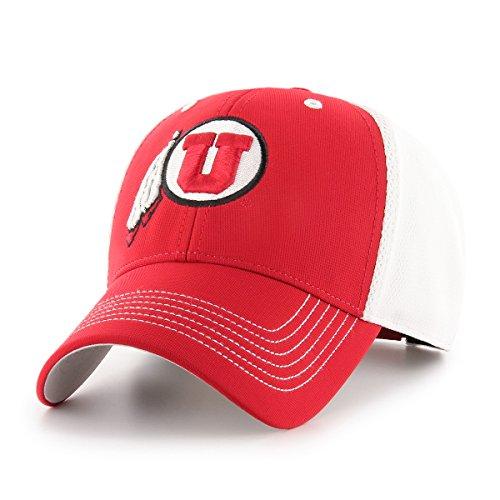 (NCAA Utah Utes Sling OTS All-Star MVP Adjustable Hat, Red, One Size)