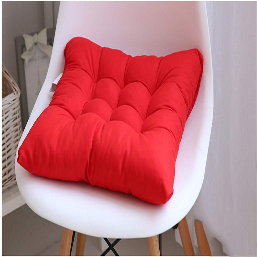 WJLK Colorato Famiglia Cuscini di Seduta Addensare Cotone E Lino Cuscini per Sedie Cuscino del Divano Cuscino per Pavimento Cuscino Sedia Cucina Colore Solido Accogliente Piazza