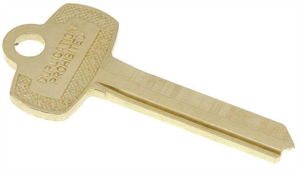 US Lock 2100 Series Keyblank Interchangeable Core R-A1114R
