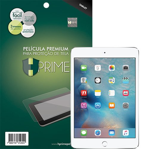 Película Hprime NANOSHIELD para iPad Mini 4, [NÃO QUEBRA][FLEXÍVEL][NÃO COBRE BORDA CURVA], Apple iPad Mini 4
