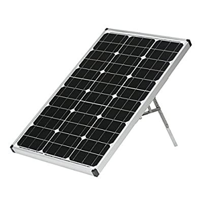 AriXsun Energy Monocrystalline Portable Solar Panel with Charge Controller (40 or 60 Watts)