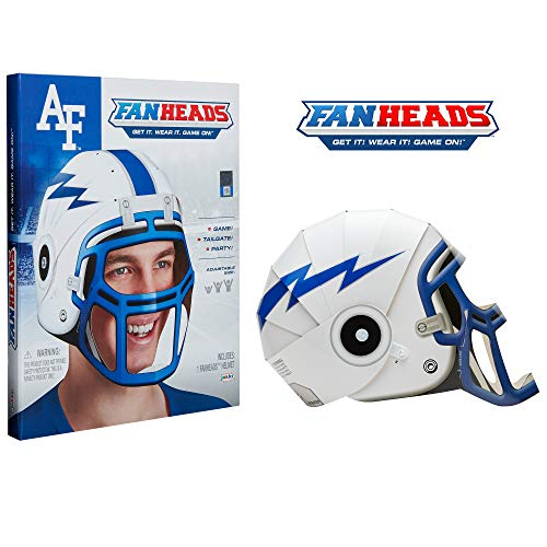 - Fan Heads 97944 Wearable College Replica Helmets - Pick Your Team!, Gray