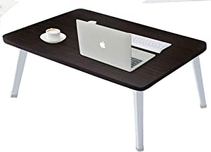 Laptop Bed Table, Portable Standing Bed Desk Tray, Computer TV Tray Couch Floor Desk,Student Standing Table, Large Size,Black