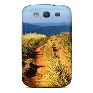 SbF5006BleG Mimortan Awesome Case Cover Compatible With Galaxy S3 - Hiking Path