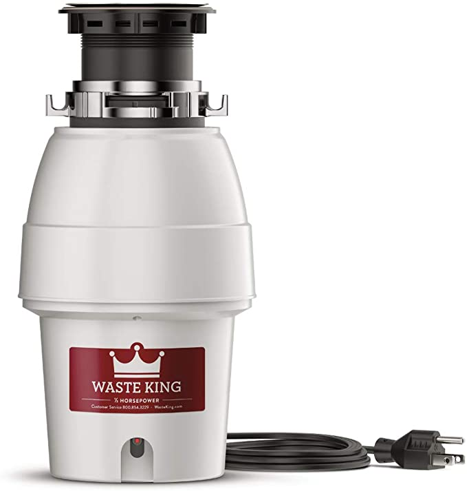 Waste King Legend Series 1 2 HP Continuous Fe