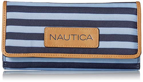 (Nautica The Perfect Carry-All Money Manager Oraganizer with RFID Blocking Wallet,)