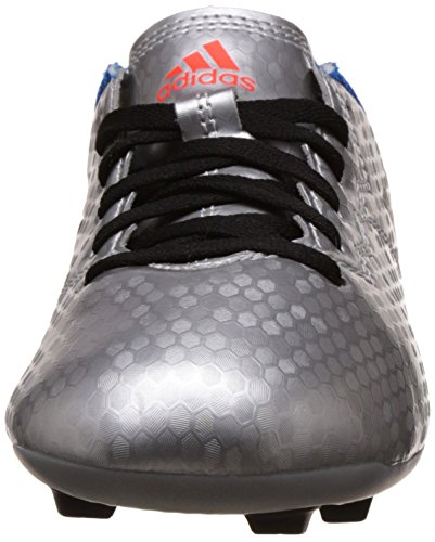 Amazon.com | adidas Messi 16.4 FxG Firm Ground Kids Soccer Boot Silver/Black/Blue | Soccer