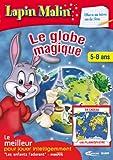 Lapin Malin Le globe magique Chasse au treson sur la terre 5-8 ans