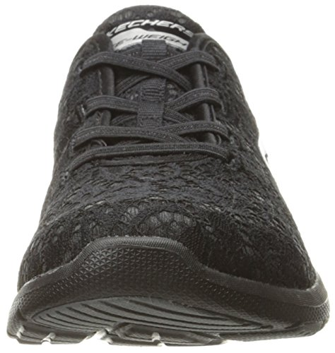 Skechers Sport Womens Galaxies Serene Vibes Fashion Sneaker Black